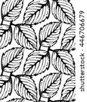 vintage floral seamless pattern ...   Shutterstock .eps vector #446706679