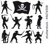 Pirates Crew Silhouettes Set 2