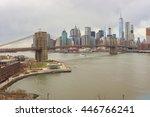 new york   circa march  2016 ... | Shutterstock . vector #446766241