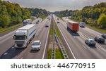Evening Motor Traffic On The...