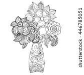 Fantasy Flower Tree. Hand Drawn ...