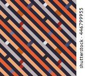 seamless geometric stripy... | Shutterstock .eps vector #446799955