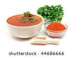 bowl of soup | Shutterstock . vector #44686666