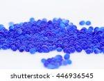 blue silica gel  moisture... | Shutterstock . vector #446936545