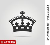 crown icon vector flat sign app ...