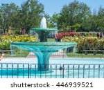 Stock photo san jose municipal rose garden is a rose garden located at the intersection of naglee and dana 446939521