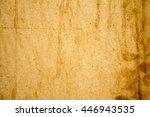 old vintage grunge parchment... | Shutterstock . vector #446943535