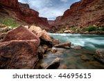 The Colorado River In The Gran...