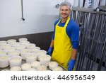 Handsome Cheesemaker Is Making...