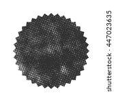 retro vintage badge. vector... | Shutterstock .eps vector #447023635