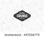 Grunge vector background texture. Grain noise distressed texture. | Shutterstock vector #447036775