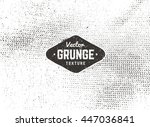grunge vector background... | Shutterstock .eps vector #447036841