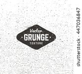 grunge vector background... | Shutterstock .eps vector #447036847