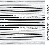 hand drawn brushstroke lines... | Shutterstock .eps vector #447045235