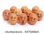 bussines eggs | Shutterstock . vector #44704864