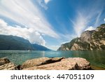 lake scape | Shutterstock . vector #447051109