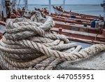 rope | Shutterstock . vector #447055951