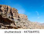 gorge and canyon the deep... | Shutterstock . vector #447064951