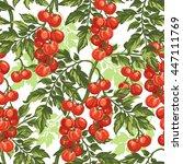 vector seamless pattern of ... | Shutterstock .eps vector #447111769