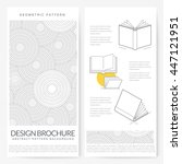 business brochure flyer design... | Shutterstock .eps vector #447121951