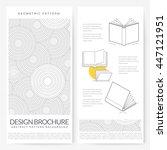 business brochure flyer design... | Shutterstock .eps vector #447121951