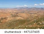 canary island  spain  rocky... | Shutterstock . vector #447137605
