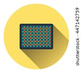 icon of photo camera sensor....