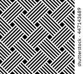 vector seamless texture. modern ... | Shutterstock .eps vector #447143689