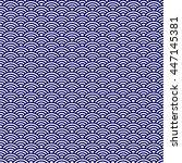japanese seamless pattern.... | Shutterstock .eps vector #447145381
