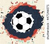soccer championship. on...   Shutterstock .eps vector #447146071