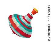 vector illustration of humming...   Shutterstock .eps vector #447170869