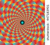 Spinning Disks Illusion
