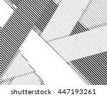 halftone bitmap lines retro... | Shutterstock .eps vector #447193261