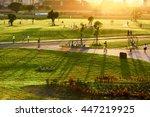 taipei  taiwan   october 13 ... | Shutterstock . vector #447219925