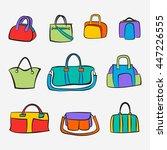 set of bags | Shutterstock .eps vector #447226555