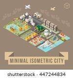 set of isolated isometric...   Shutterstock .eps vector #447244834