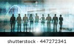 business people success... | Shutterstock . vector #447272341