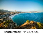 breathtaking view of the... | Shutterstock . vector #447276721