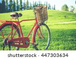 Red Japan Style Classic Bicycle ...