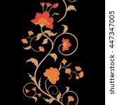 design element of bright... | Shutterstock .eps vector #447347005