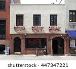Small photo of New York, NY, USA - July 2, 2016: The Stonewall Inn: The Stonewall Inn, often shortened to Stonewall, is a gay bar and recreational tavern in the Greenwich Village neighborhood.