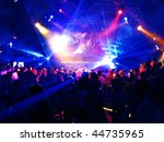 Stock photo dancing people in a disco 44735965