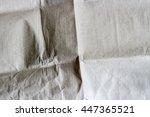 gray crumpled paper | Shutterstock . vector #447365521