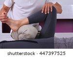 chiropractic  osteopathy ... | Shutterstock . vector #447397525