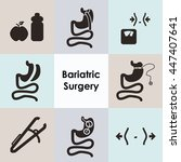 vector illustration   bariatric ... | Shutterstock .eps vector #447407641