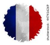 digital panting effect flag of... | Shutterstock . vector #447416269