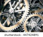 Gears Cog Wheels Concept. 3d...