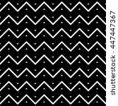 wave seamless pattern. | Shutterstock .eps vector #447447367