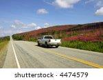top of the world highway  alaska | Shutterstock . vector #4474579