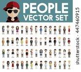 diversity community people flat ...   Shutterstock .eps vector #447460915